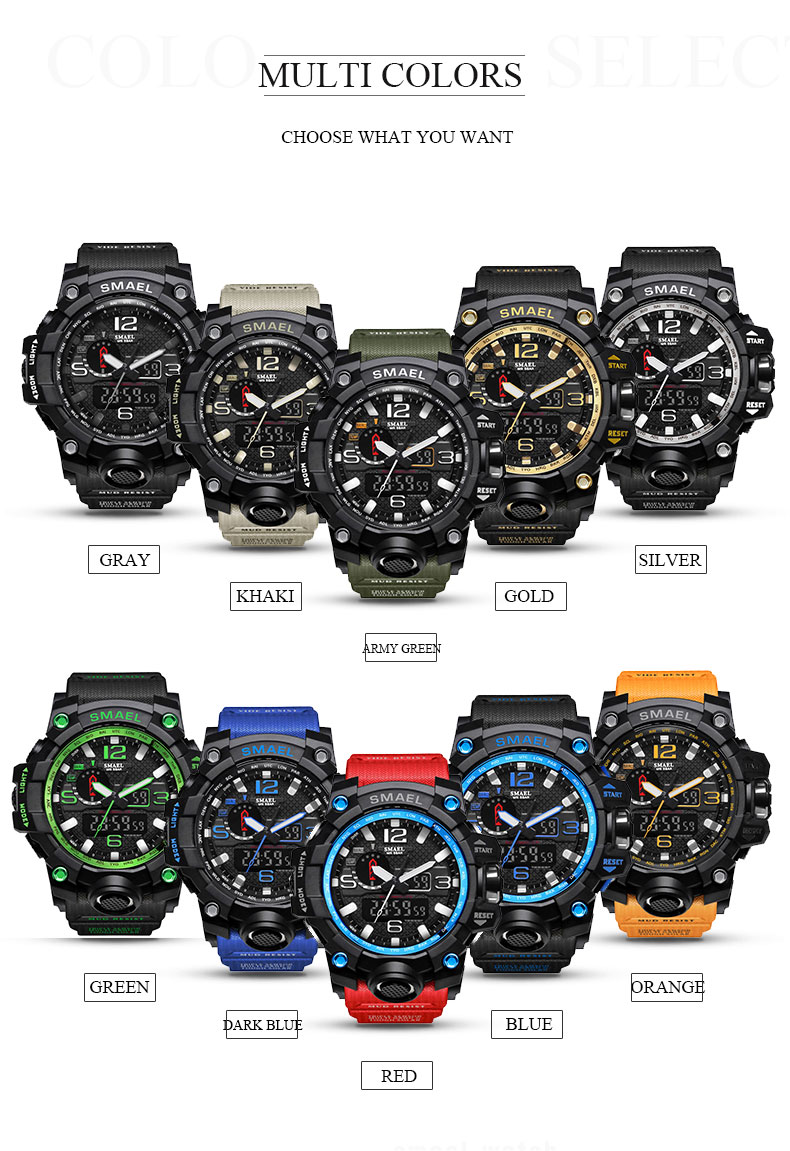 HTB1ovDOSXXXXXa.apXXq6xXFXXXV - SMAEL MUDMASTER 2017 Fasion Sport watch for Men