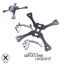 LX4 ONE Leopard 195mm X-Type 4in 220mm X-Type 5in Carbon Fiber FPV Racing Drone Quadcopter Frame Kit with XT60 Power Distributor(China)