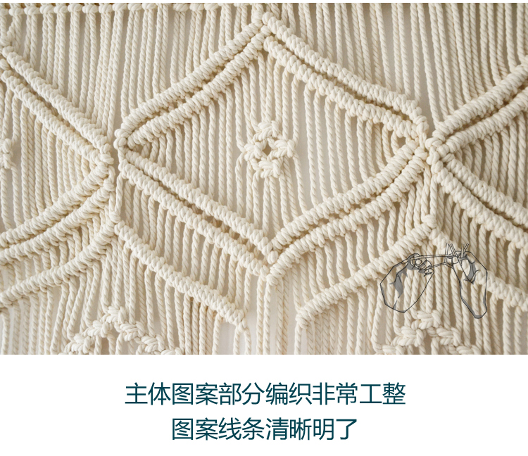 Macrame pared decoración pared arte Tapices inicio decoración de la ...