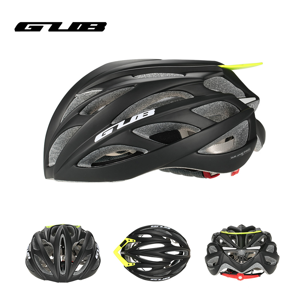 GUB PRO Cycling Helmet EPS Ultralight MTB Mountain Bike Helmet Integrally-Molded Visor EPS+PC 26 Air Vents Skating Helmet wheel up integrally aerodynamic eps lens cycling helmet ultra light mountain bike helmet mtb bicycle helmet byclcle accessories