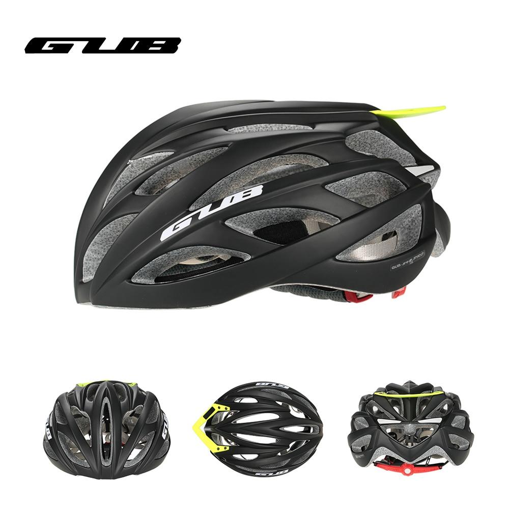 GUB PRO Cycling Helmet EPS Ultralight MTB Mountain Bike Helmet Integrally-molded Visor EPS+PC 26 Air Vents Skating Helmet велошлем gub pro sv8pro 2014