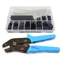 Crimping Tool Crimper Plier AWG28 20 With 520pcs Dupont 2.54mm Connectors Assortment Kit