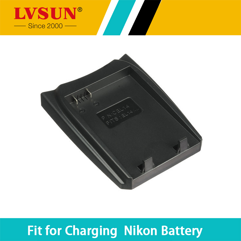 LVSUN EN-EL14 EN EL14 ENEL14 chargeable Battery Case Plate for Nikon D5200 D5100 D3100 D3200 P7100 P7000 Batteries Charger