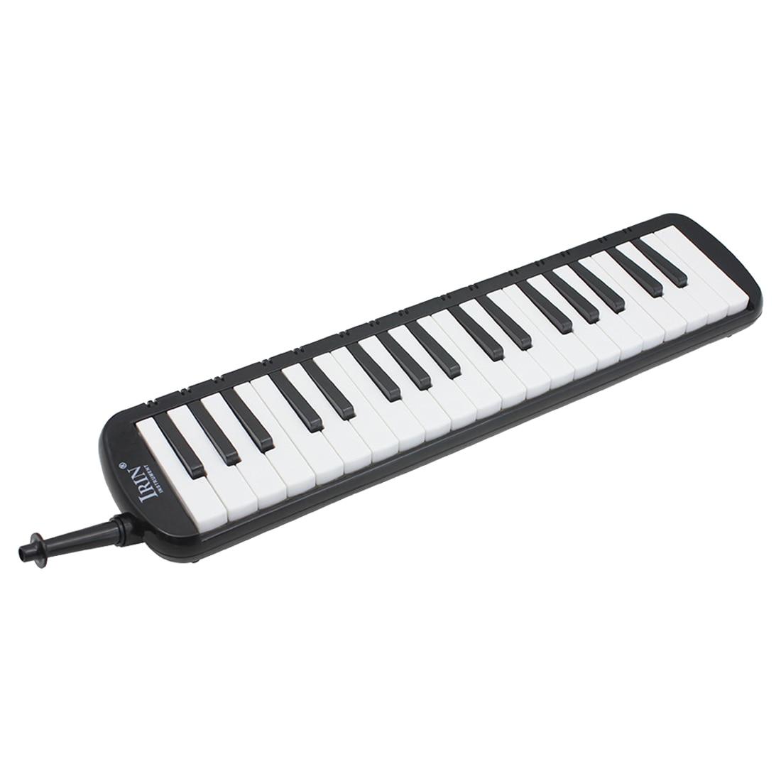 SYDS IRIN Nero 37 Tasti di Pianoforte Melodica Pianica w/Borsa Per Gli Studenti Nuovo