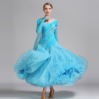 Elim Son Adult Modern Dance Skirt Costumes S9015 Diamond Ballroom Dance Costume Contest In New Clothes