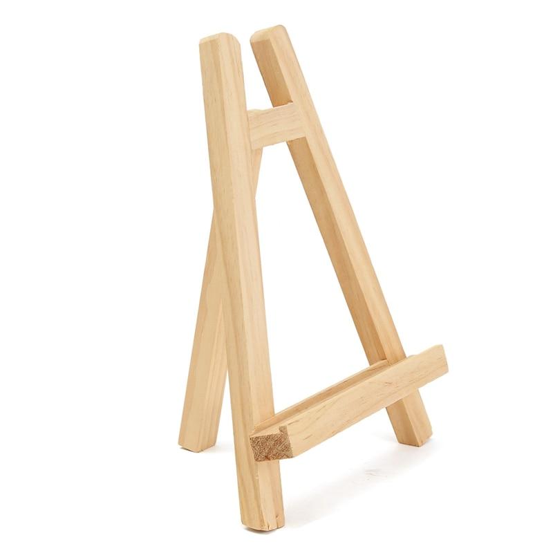 Mini Artist Pine wooden Folding Painting Easel Frame 28cm Adjustable ...