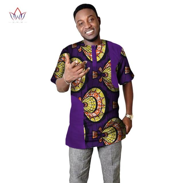 Personnalisé 2017 Manches Hommes Chemise À Style Afrique Privée BACqwTxA1
