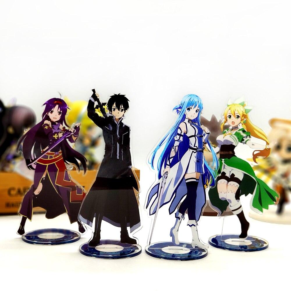 Sword Art Online Kirito Asuna Suguha Yuuki_1