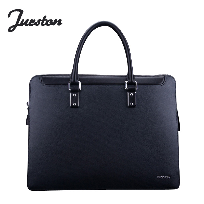 Wire man bag commercial genuine leather man bag portable briefcase handbag cowhide laptop bag bag portable genuine leather man briefcase economic document bag 7060309