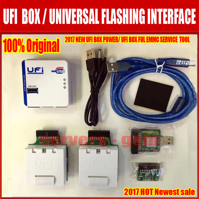 La más nueva caja UFi potente herramienta de servicio EMMC puede leer datos de usuario EMMC, reparación, retamaño, formato, borrar, leer escribir actualizar firmware en EMMC