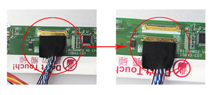 """Image 4 - Için B173RW01 V.3 Denetleyici kiti LCD LED Panel Ekran VGA HDMI DVI LVDS sürücü panosu monitör Kartı 1600X900 17.3"""""""