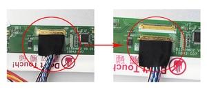 "Image 4 - Para LTN156AT02 D01 1366*768 painel placa de controlador 15.6 ""monitor display lcd tela vga kit led 40pin hdmi m. nt68676 diy dvi"