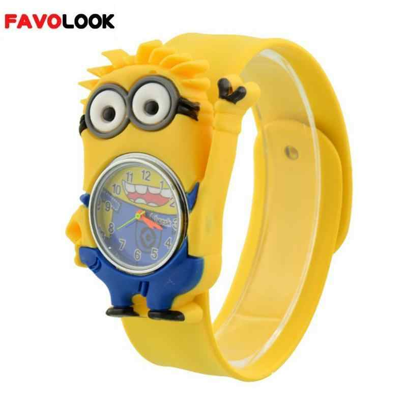 Hard-Working 3d Anime Kids Watches Silicone Fashion Life Waterproof Children Quartz Watch Girls Boys Child Watch Baby Clock Relogio Feminino Fast Color Watches