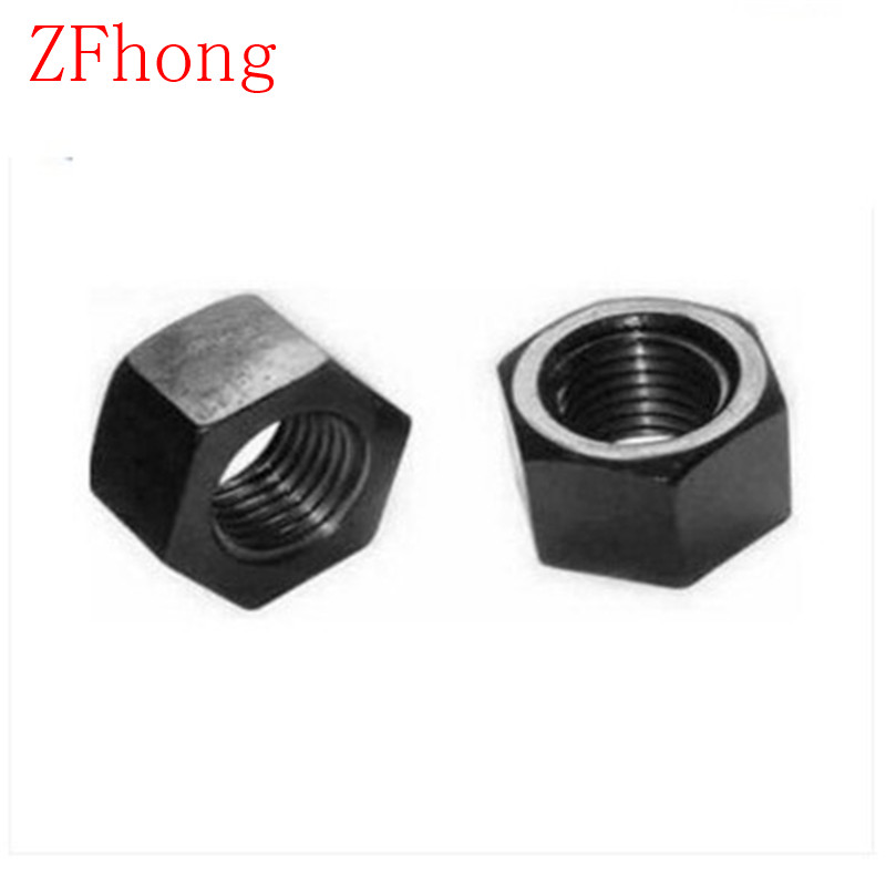 M3 M4 M5 M6 M8 M10 M12 M14 M16 M18 M20 Left thread steel with black hexagon hex nut nuts m1 m1 2 m1 6 m2 m2 5 m3 m4 m5 m6 m8 m10 m12 m14 m16 m18 m20 hex nut micro small nuts stainless steel din934