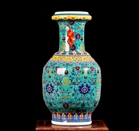 Гостиной в европейском стиле китайские декоративные Уши Ваза пастельных Творческий Тип Европа восстановление древних способов первый ваз