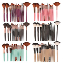 Professional 18Pcs Cosmetic Makeup Brushes Foundation