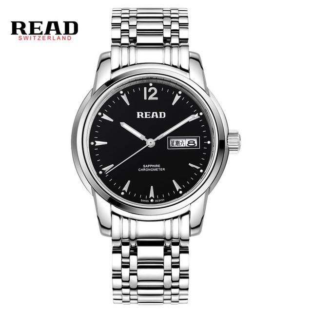 READ watches Mens Watch classic Mens Watch Mens Fashion luminous quartz watch 6001 charles hubert paris mens quartz watch 3771 b