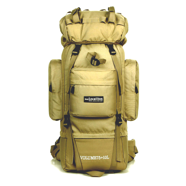 85L Большая марка емкость кронштейн профессиональный альпинизм сумка рюкзак Водонепроницаемый Большой бизнес путешествия Многофункциональный мешок