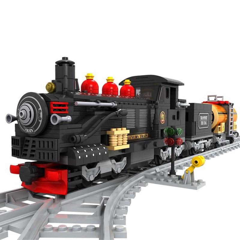 AUSINI 25812 Train building blocks train 462 pcs Train Bricks Blocks children's DIY educational toys for children