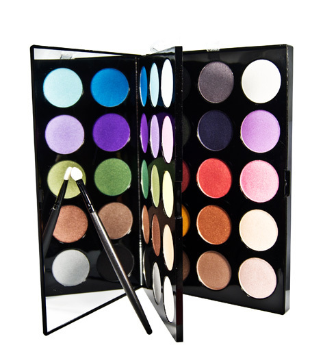 2016 New Brand Professional Flash Eyeshadow Palette Double Layers 30 Colors