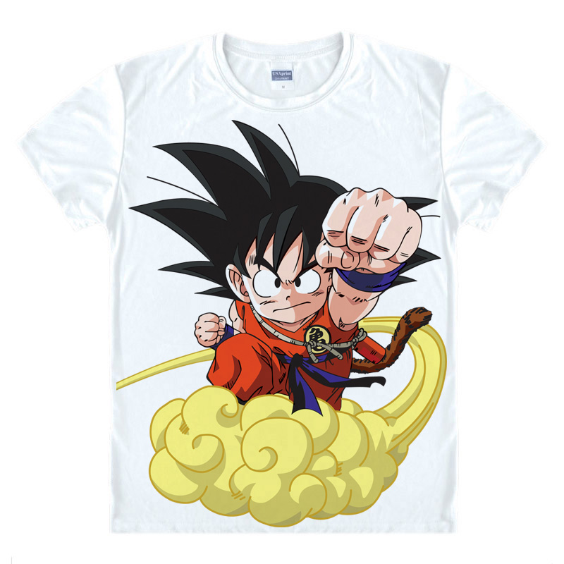 Dragon Ball Z GT Camisetas kawaii japonés anime camiseta manga camiseta  cute Cartoon Cosplay camiseta Goku Gohan Super Saiyan 26670331 a70edd381213