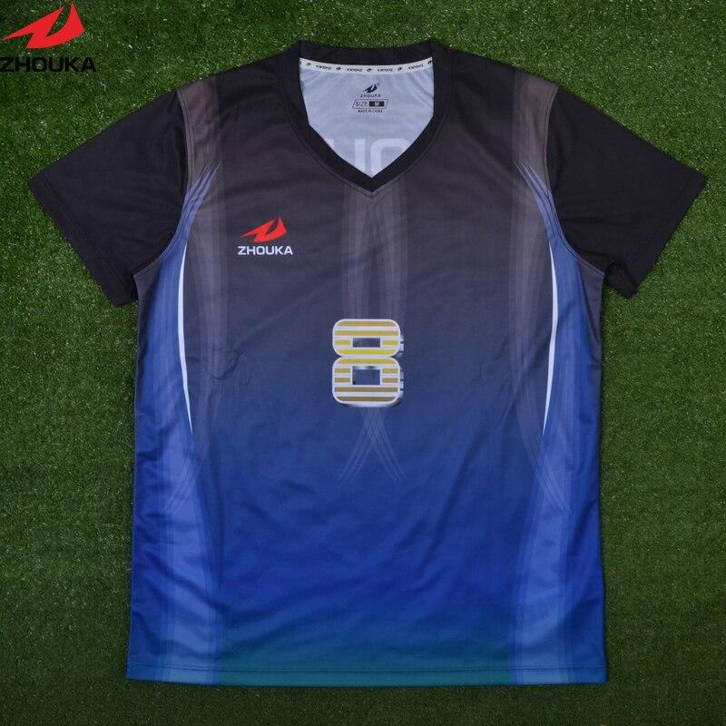 brand new d8ee9 b37f1 Zhouka custom football Jersey Sublimation printing ...