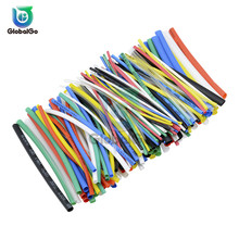 цена на 127PCS 328Pcs 530pcs/pack Polyolefin Assorted Heat Shrink Tubing Insulation Shrinkable Tube Heat Shrink Shrinkable Wire Cable