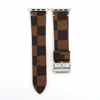 Brand Wrist Watch Band Leather Strap For 38 42mm Apple Watch Iwatch Loop Belt Strap Replacement