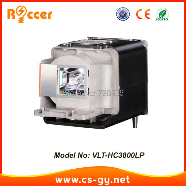 Compatible Projector Lamp VLT-HC3800LP for MITSUBISHI HC3200 HC3800 HC3900 HC4000 VIP 180W майка борцовка print bar rock your life