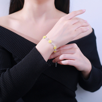 Amber beeswax original natural stone jewelry accessories women bracelet 925 sterling silver bracelets identification design