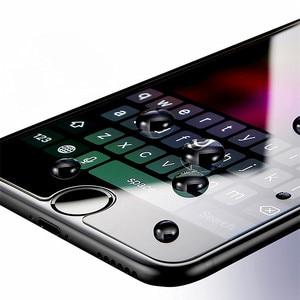 Image 5 - 2 PCS 화면 보호기 강화 유리 아이폰 X XS 최대 XR 8 7 6 6s 플러스 전화 보호 유리 아이폰 5 5s SE 4 4s 유리