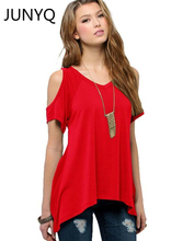 2018 Brand clothing summer V pure cotton short sleeved Strapless collar fishtail hem female women T-shirt Free shipping S-5XL