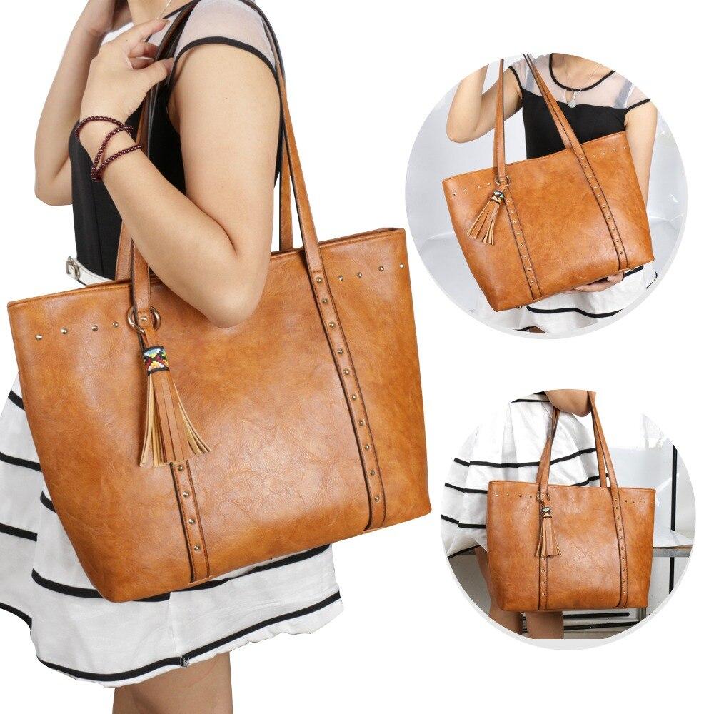 2018 sac pour les femmes de mode de haute qualité sacs à main casual femmes nouveau style épaule sacs femmes
