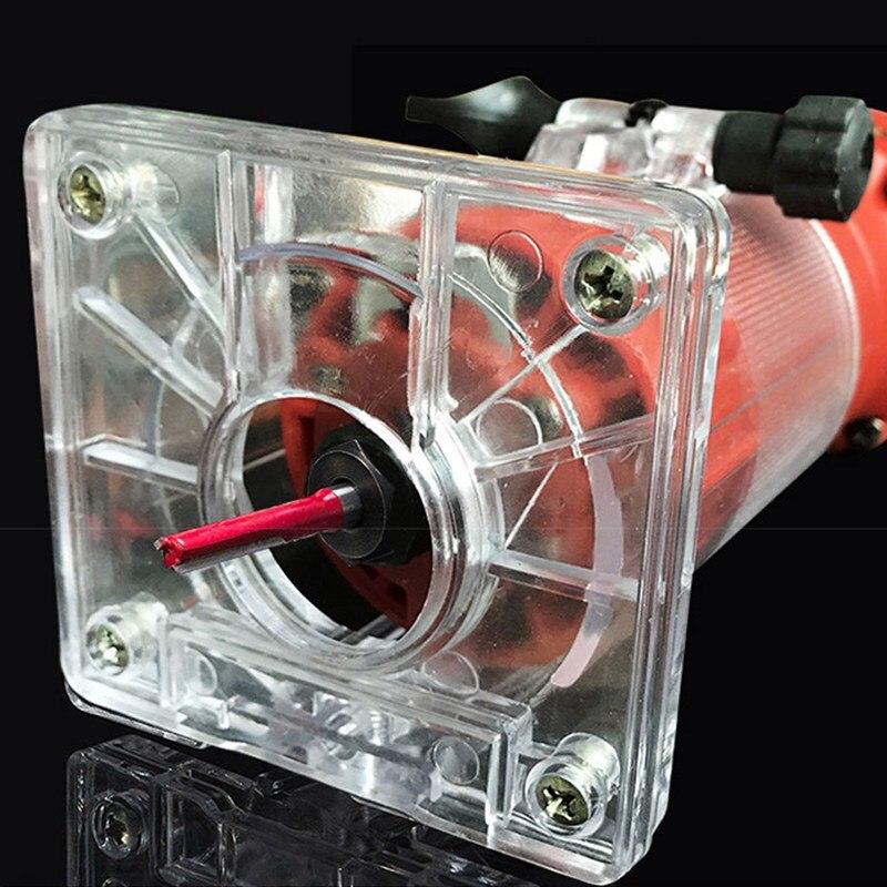 Machine de découpage de routeur de plastifieuse en bois électrique outil de travail du bois 220 v 800 w 30000 rpm tondeuse à main électrique précise pour outil en bois - 5