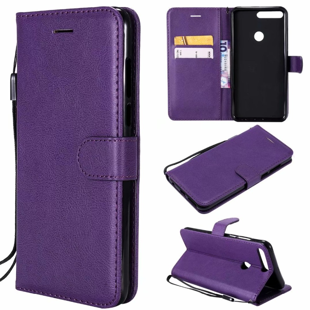 Wallet <font><b>Case</b></font> For Huawei <font><b>Honor</b></font> <font><b>7C</b></font> 5.99