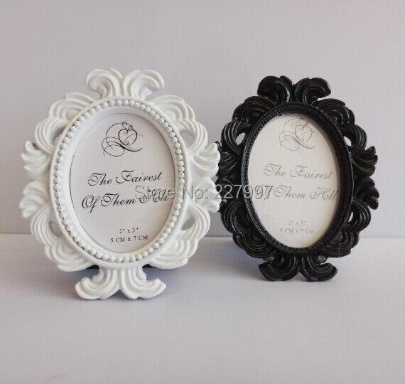 50pcs/lot Wholesale Black & White Baroque European Resin Photo Frame ...