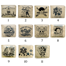 One Piece Luffy Chopper Roronoa Zoro Carteira Tony Chopper Thousand Sunny Wallet