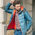 Марка мужская Теплая Вниз Куртки Ultra Light Белая Утка Вниз Мягкие Пальто Вниз Парки Мужская Теплая Зимняя Куртка Мужчины