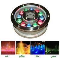 10pcs Lot High Power LED Underwater Light 9W 12W IP68 White RGB Swim Pool Fountain Light