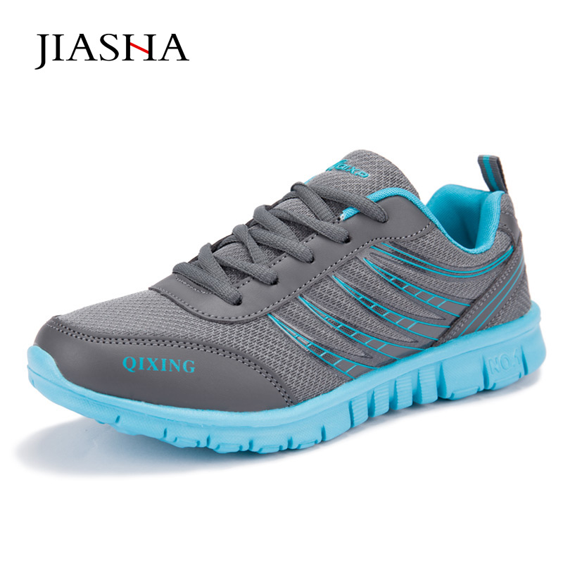Women Casual Shoes Mesh Breathable Shoes 2018 Fashion Lace-up Lightweight Female Leisure Outdoor Shoes lin king women casual shoes leisure lace up wedge shoes fashion low top massage ankle shoes solid massage outdoor single shoes