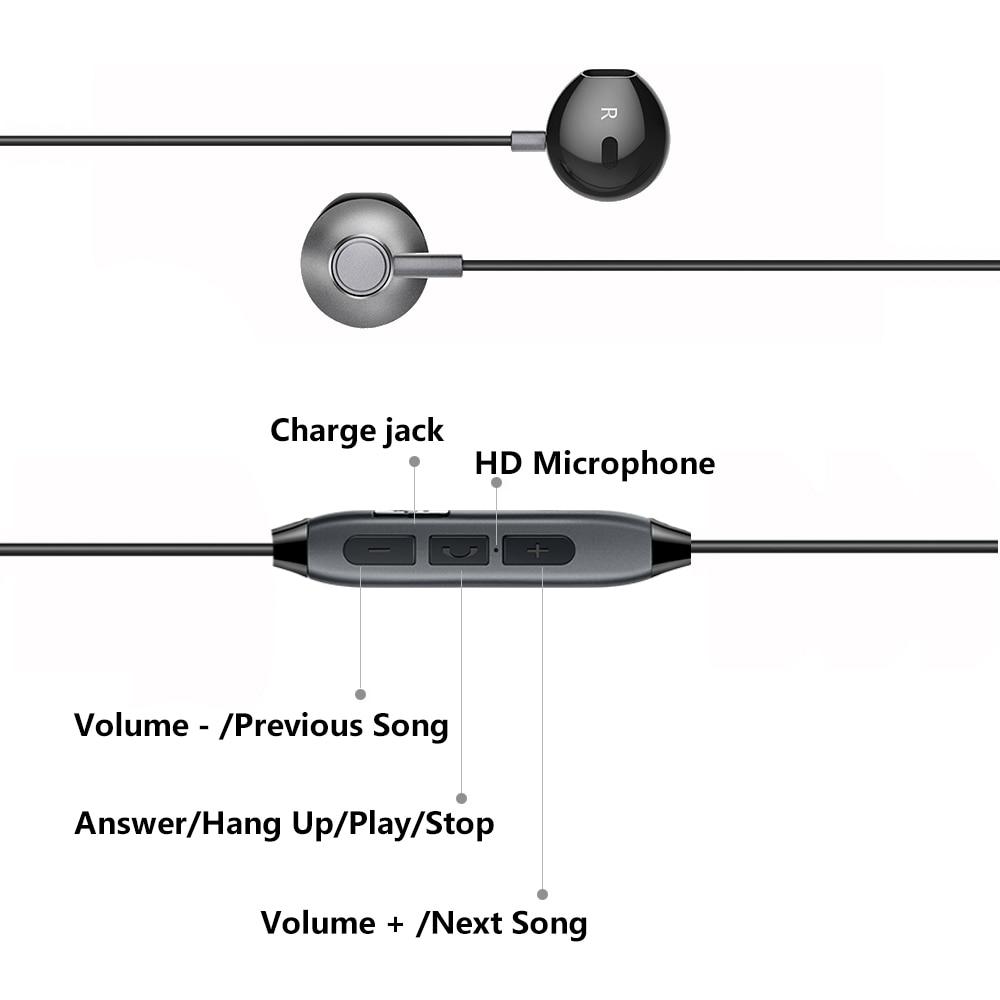H2 auriculares Bluetooth Auriculares inalámbricos a prueba de agua - Audio y video portátil - foto 5