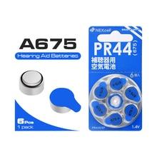 6PCS/LOT( 1 PACK)  NEW Zinc Air 1.4V Zinc Air Hearing Aid Batteries 675A A675 675 PR44 ZA675 Free Shipping! Hearing Aid Battery
