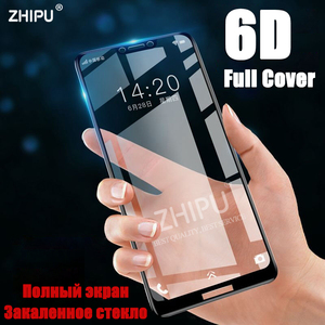 Image 1 - 6D Tempered Glass For HUAWEI honor Play 6.3 Full Cover Curved Screen Protector Film on the honor Play Premium Protective Glass