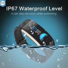 JQAIQ Fitness Tracker Ip67 Waterproof Smart Bracelet Wristbands Heart Rate Monitor For Iphone Xiaomi