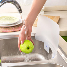 Kitchen Sink Splash Guard Buy kitchen sink splash guard and get free shipping on aliexpress 1 pcs creative water splash guard baffle board sucker wash basin sink board kitchen gadgets waterproof workwithnaturefo