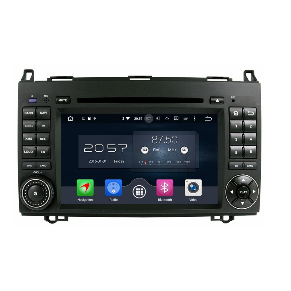 4GB RAM 7 Octa Core Android 6 0 Car Audio DVD Player for Mercedes Benz B200