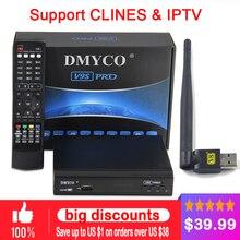1 шт. 2018 последние рецепторов Сингапур V9S PRO TV Box Смотреть кабель HD каналы 2xusb порта + USB WI-FI заменить qbox PK V8 супер
