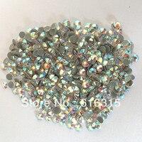 Fabriek direct verkoop ss20 crystal AB rhines hot fix voor garment ontwerp. hoge kwaliteit ab crystal voor trouwschoenen gratis verzending