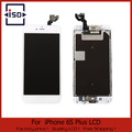 1PCS LCD Display Touch Screen Digitizer Full Assembly With Front Camera Home Button white color For Iphone 6s plus 5.5""