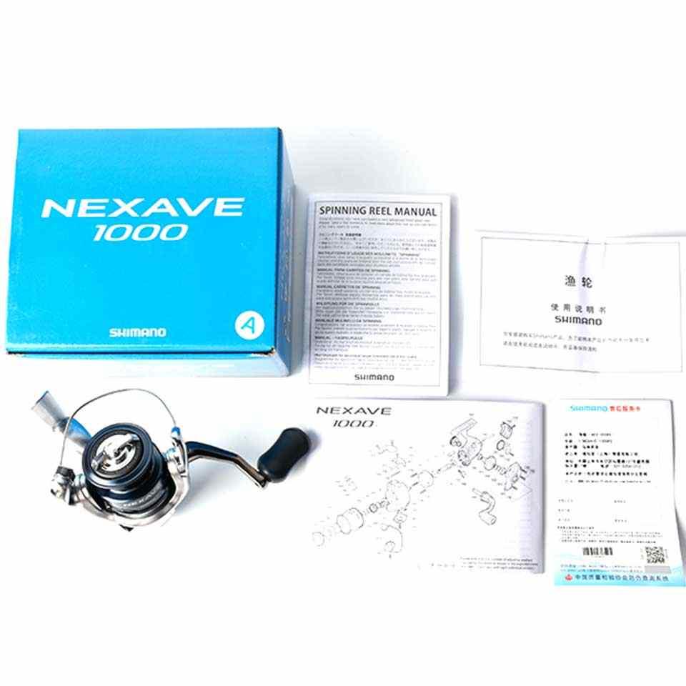 Shimano Nexave 1000/2500/C3000/4000 Spinning Reel Fishing Met AR-C Spool Geschikt Voor Zeewater Spinning Vissen reel